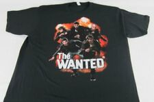 NEW Mens Womens The Wanted Explosion Short Sleeve Black T-Shirt Tee Sz S M L XL
