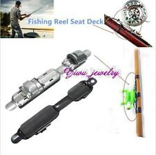 Portable Stainless Fishing Reel Seat Deck Fishing Rod Clip Fitted Wheel Reel YZ