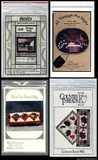 ASSORTMENT OF   Wall Quilt & Bag  Quilting Patterns