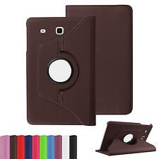 New 360 Rotary Stand Leather Case Cover For Samsung galaxy Tab E T560 9.6""