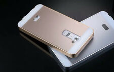 Luxury Ultra-thin Aluminum Metal Bumper PC Back Case Cover For LG Optimus G2 G3