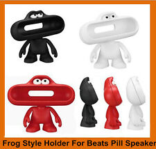 Frog Dude Character for Beats Pill Bluetooth Wireless FM Speaker Stand Holder