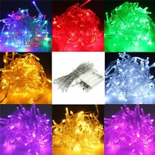 5M 50 LED String Fairy Light Battery Powered Party Xmas Wedding Twinkling Lamp