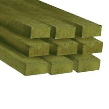 6 X 2 TIMBER (47 X 150MM) C16 SAWN TREATED TIMBER - MULTI LENGTHS & QUANTITIES