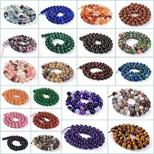 """8mm gemstone round loose beads *lot of choices* 16"""""""