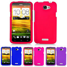 For HTC One X S720e X+ AT&T Color Rubberized Hard Case Snap On Cover Accessory