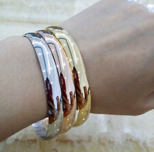 """Stainless steel High quality Women Lady love Cuff Bracelet Bangle 8mm ,2.8""""Inner"""