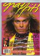 David Lee Roth  Graffiti Magazine From 1986 (Canadian Release)