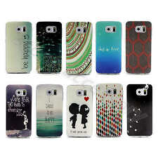 Elegant Sky & Sea Painted TPU Silicone Rubber Gel Portable Case Cover For Phones
