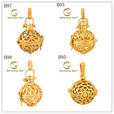 18K Gold Filled Harmony Ball Charm Mexican Bola Angel Caller Chime Sound Pendant