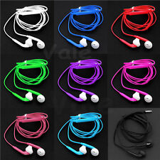 3.5mm Stereo Handsfree Earphone Headset W/ Mic Volume Control for Mobile Phones