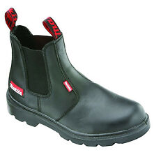NEW MAKITA CHELSEA DEALER MW335 SAFETY STEEL TOE CAP WORK BOOTS SIZE UK 6-12