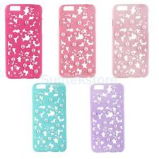 """Hollow Out Bling Daisy Flower Pearl Case Cover for iPhone 6 4.7"""" / 6 Plus 5.5"""""""