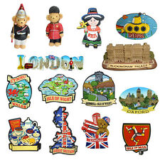 UK GB England London Oxford Liverpool Wales Brighton Isle of Wight Man Magnets