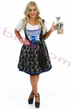 K88 Oktoberfest Costume Bavarian German Heidi Dirdnl Leiderhosen Beer Wench Maid