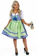 K85 Ladies Oktoberfest Beer Maid Wench German Bavarian Heidi Fancy Dress Costume