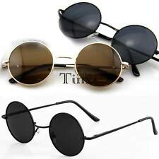 New Men Women Round Metal Frame Sunglasses Glasses Eyewear Vintage Retro TXCL