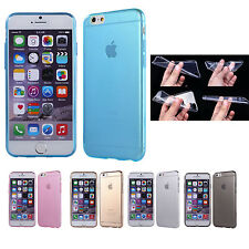 For iPhone 6S/ 6S Plus Soft TPU Ultra Thin Clear Case Cover