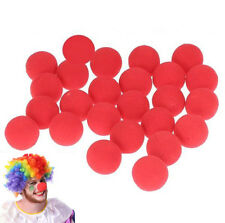 Lot Ball Foam Red Clown Nose Halloween Circus Costume Masquerade Dress Party