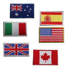 Various - SEW EMBROIDERY CLOTH National Nation Country Emblem Flag Patch Badge