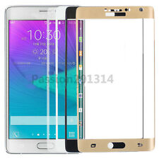 Full Cover 3D Curved Tempered Glass Screen Protector Fr Samsung Galaxy Note Edge