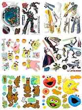 Boys Bedroom Wall Stickers Kids Character Wall Decal Accent Decor-PICK YOUR ITEM