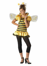 Sassy Tween Girls HONEY BEE Halloween Costume  M 10-12  Bumble Bee