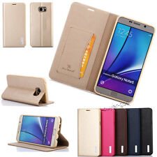 Genuine Magnetic Flip Wallet Leather Stand Case Cover Fr Samsung Galaxy S6/Note5