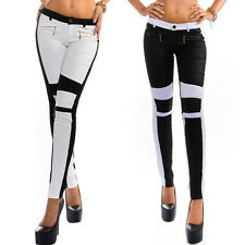Women's New Fashion Jeans Skinny Stretchy Zipper Tights Long Pants Women's Pants