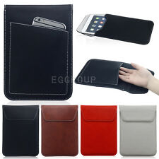 """Magnetic Leather Sleeve Bag Pouch Case Cover for iPad mini 7"""" 7.9'' 8'' Tablet"""