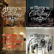 Removable DIY Christmas Decoration Sticker Home Decal Decor Wall Window Sticker
