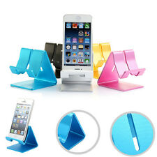 Universal Cell Phone Desk Stand Holder For Tablet For Samsung For iPhone 6 6S 5S