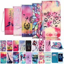 Luxury Painted Wallet Leather Case Cover For Apple iPhone 6/6S 6S Plus 5S/5C 4S