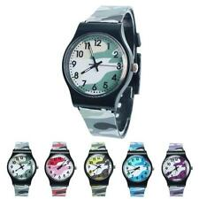Fashion gift Camouflage Children Watch Quartz Wristwatch For Girls Boy