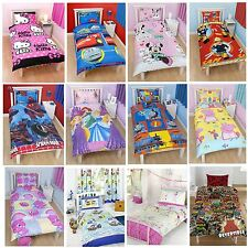 CHILDRENS DISNEY AND CHARACTER SINGLE DOONA COVERS - KIDS BEDDING SETS