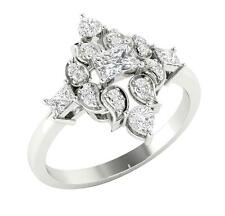 Solitaire Anniversary Ring Band I1/G 1.15Ct Real Diamond Jewelry 14Kt Sold Gold