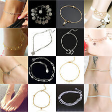Sexy Woman Beach Jewelry Hot Infinity Barefoot Foot Chain Anklet Bracelet Ankle