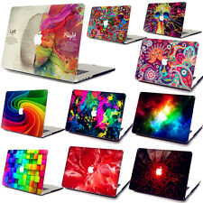 "3D Pattern Hard Case+Keyboard Cover+SP for Macbook Air Pro 11""12""13""1​5""Retina A"