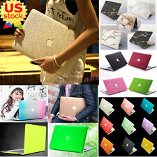 """Marble/ Silk Leather/ Quicksand Matt Hard Case Cover for MacBook Air Pro 11""""/13"""""""