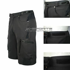 New Black Men's Cycling Mountain Bike Bicycle Outdoor Casual Short Pants Trouser
