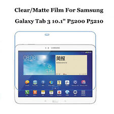 """Clear/Matte Screen Protector Film Lot For Samsung Galaxy Tab 3 10.1"""" P5200 P5210"""