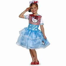 New Hello Kitty Sailor Deluxe Tutu Child Halloween Costume