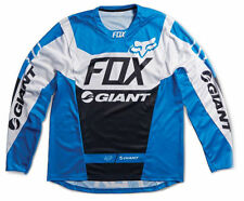 Fox Racing 2015 Giant Demo DH L/S Long Sleeve Jersey Blue