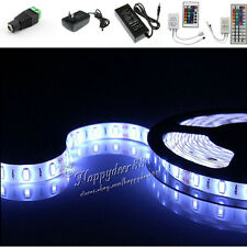 5M Cool/Warm White RGB 300LEDs Flexible LED Strip Lights 12V Power Supply