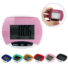 Waterproof LCD Digital Run Step Pedometer Walking Sport distance Calorie Counter