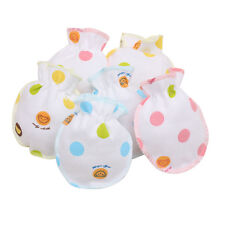 Warm Winter Cute Dots Baby Newborn Infant Kids Anti Scratch Mittens Soft Gloves