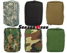 1X Airsoft Tactical Molle EMT First Aid Pouch Medic Kit Utility Paramedic Bag