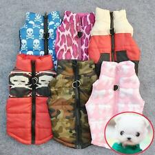 Warm Pet Cat Dog Clothing Soft Padded Vest Harness Puppy Small Dog Coat Clothes