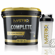 COMPLETE ALL IN ONE PROTEIN - ALL SIZES AND FLAVOURS - MATRIX NUTRITION - WHEY