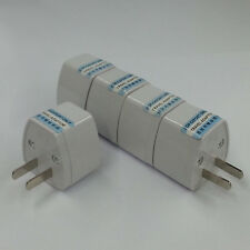 AU UK EU AS to US AC Power Plug Adapter Converter Outlet Home Travel Wall Newly